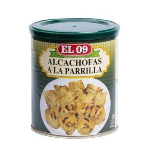 Alcachofas a la Parrilla