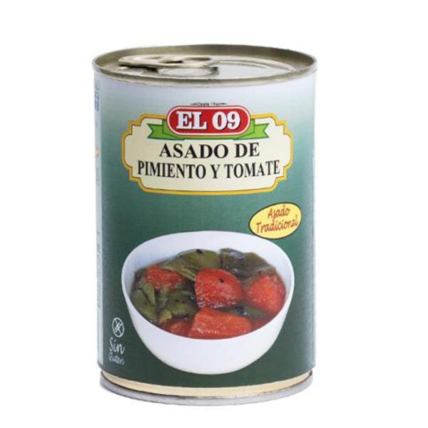 Asado de pimiento y tomate